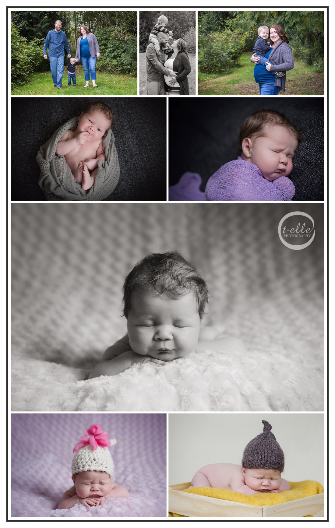 Newborn photography Bothell
