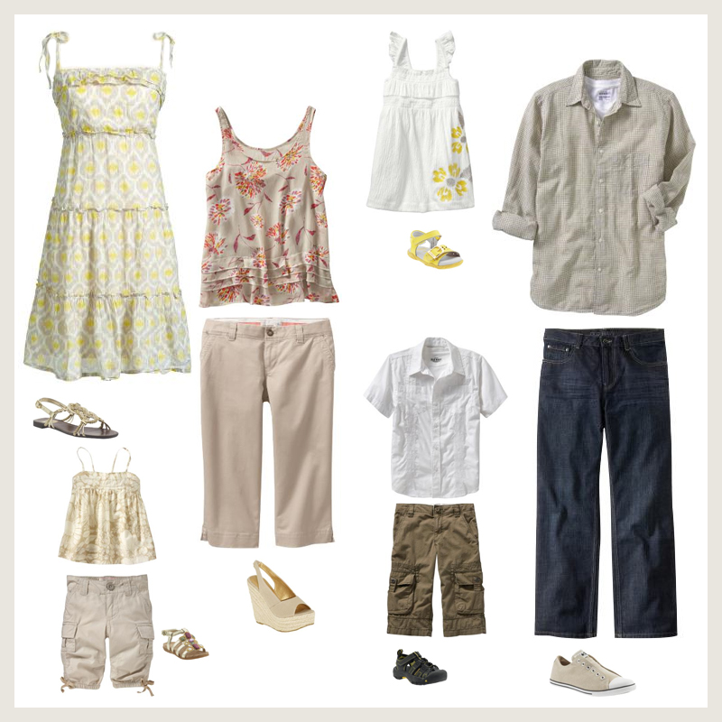 What To Wear For Professional Family Portaits