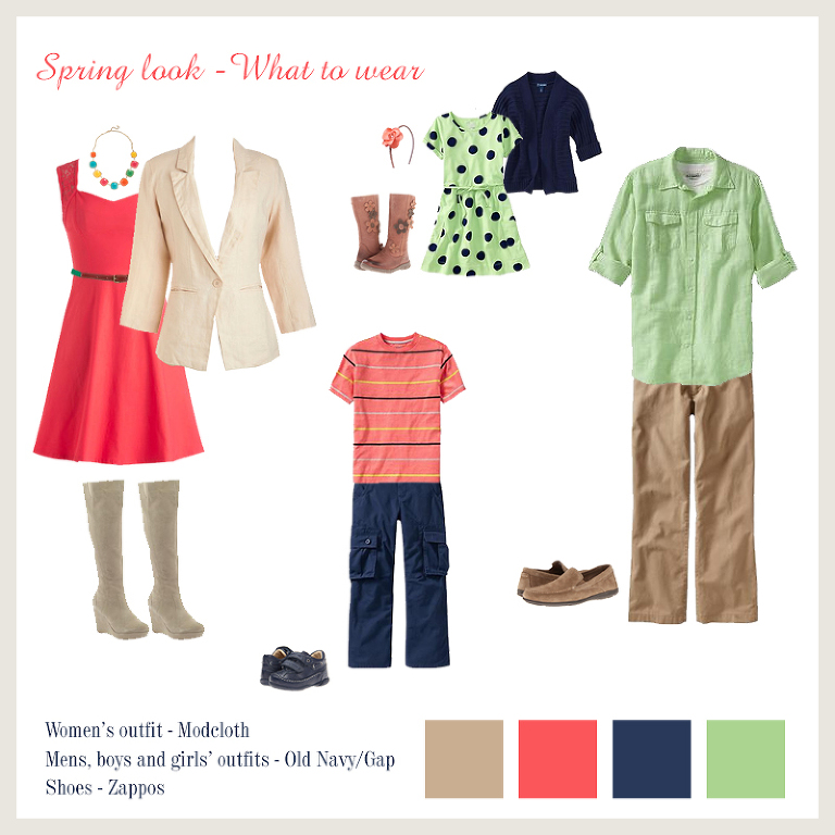 Ideas On What To Wear For Spring Family Photos Planning A Photo Session Trying Decide Outfits Can Be Quite Challenge Especially With Large